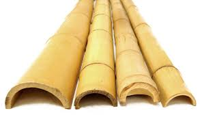 Half Round Bamboo Poles 20 Count 2 X 8 Bamboo Poles Bamboo Poles For Sale Bamboo