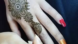 simple mehndi design wallpaper download
