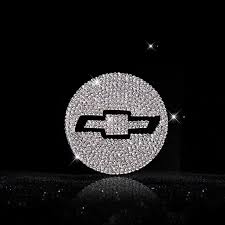 Bling Chevy Logo Stickers For Tire Wheel Center Caps Emblem Decal Made Carsoda