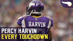 Every Touchdown Percy Harvin scored with the Vikings - YouTube