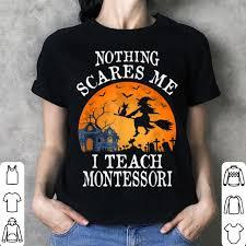 nothing scares me i teach montessori
