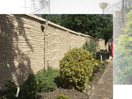 Precast Concrete Fencing London Decorative Durable Fencing