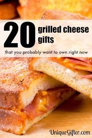 grilled cheese gifts you probably want