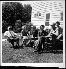 Aaron Copland at a family reunion, 1958 | Library of Congress