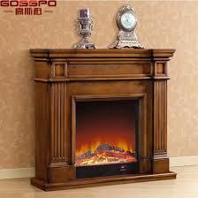 freestanding wood fireplace mantel