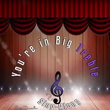 You're in Big Treble Sing-Along (feat. Abby Bell, Katelin Singleton, Keith  Grant Jr., Paedyn Davis & Ja'raya Davis) by Paris Daniels on Amazon Music -  Amazon.com