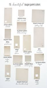 15 beautiful taupe paint colors