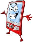 Obrázek mobilní telefon kreslený | fotobanka Fotky&Foto