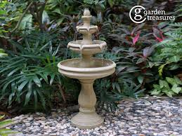 resin tiered outdoor fountain at com