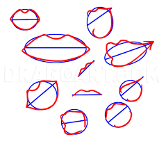 how to draw manga mouths step by step