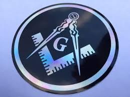 Masonic Decal 3 5 Logo Freemason Car Black Freemasonry Sticker 3d Feel Us Polybull Com