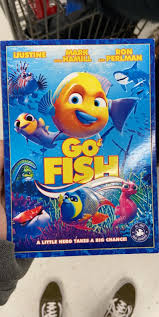 It's a cross between Shark Tale and Finding Nemo with a truly unique cast :  crappyoffbrands
