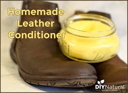 homemade leather conditioner clean