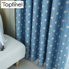 2020 Top Finel Polka Dots Blackout Window Curtains For Living Room Bedroom Children Curtain Panel For Kids Baby Room Curtains Fabric From Highqualityok4 230 97 Dhgate Com