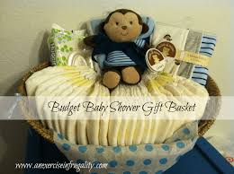 baby shower basket gift idea an