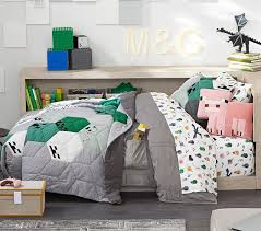 minecraft kids bedding pottery barn kids
