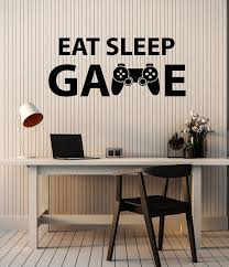 Vinyl Decal Play Room Wall Interior Quote Gift Idea For Gamer Video Ga Wallstickers4you