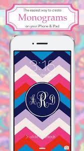 monogram wallpapers lite apps 148apps