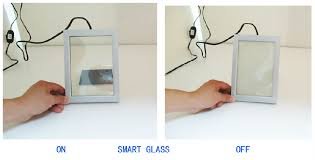 clear opaque electric glass window cost