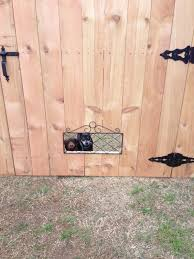 Pin On Gate With Dog Window