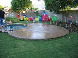 bobby s splash pad backyard splash