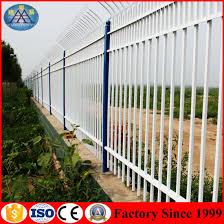 China Spray Paint Villa Anti Climb Garden Fence Guardrail Customized China Road Guardrail Airport Fences
