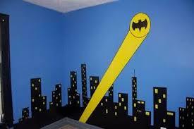 Creative Eyedias Sleeping In Gotham City A Batman Bedroom Batman Themed Bedroom Batman Bedroom Batman Room