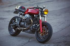 guzzi 1100 sport cafe racer return of