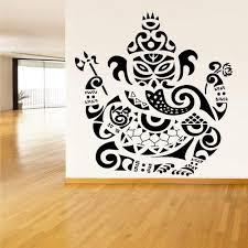 Amazon Com Stickersforlife Wall Vinyl Sticker Decals Decor Art Bedroom Kids Design Mural Tribal Elephant Ganesh Ganesha Lord Of Success India Budda Buda Z1533 Home Kitchen