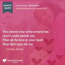grandmother poems poems for grandmother from grandchildren
