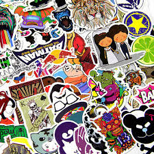 Parts Accessories 50 X Graffiti Art Stickers Car Decal Vinyl Skate Snow Surf Board Laptop Guitar Decals Stickers Other Decals
