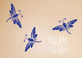 Dragonfly Animal Wall Decals Vinyl Art Stickers