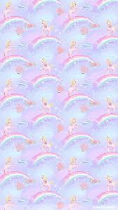 rainbow unicorn dust iphone wallpaper