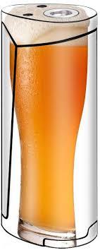 Amazon Com Skin Decal Vinyl Wrap For Smok Priv V8 60w Vape Stickers Skins Cover Pint Of Beer Craft Beer Mug