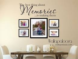 Family Wall Decal Memories Wall Decal By Wallapaloozadecals 30 00 Family Wall Decals Family Wall Decor Family Wall