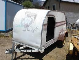 1959 homemade teardrop trailer project