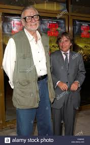 George A. Romero, Peter Grunwald at arrivals for GEORGE A. ROMERO'S Stock  Photo: 38205845 - Alamy