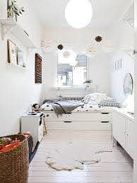 Get Inspired To Create An Unique Bedroom For Kids With These Decorations And Furnishings Inspired By White Mommo Design Platform Bed With Storage Home Bedroom