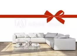 457 064 Ribbon Decoration White Gift Holiday Wall Murals Canvas Prints Stickers Wallsheaven