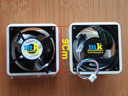 Quạt Tủ Lạnh Hitachi 3Phase , 3 Dây Vuông 9Cm - Điện Máy Minh Khang