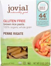 jovial organic brown rice pasta penne