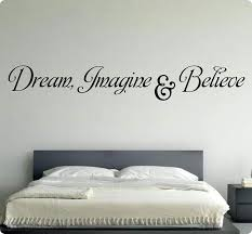 54 Dream Imagine Believe Wall Decal Sticker Art Home Decor Amazon Com