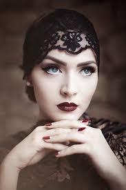 1920s makeup tutorial step by