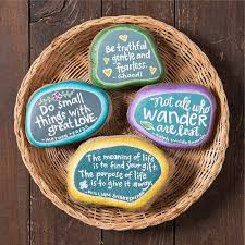 easy painted rocks that are fun to make