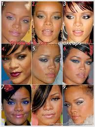 makeup s que la chanteuse rihanna