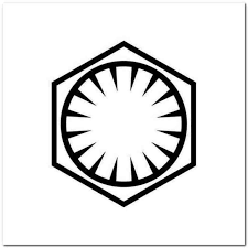 Star Wars First Order Vinyl Decal Sticker
