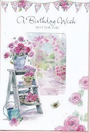 roseoftheparty birthday card window