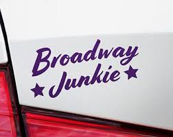 Broadway Decal Etsy