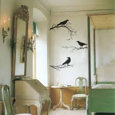 Crows On Branches Vinyl Wall Decals Removable Perfect Wall Stickers For Living Room Halloween Decoration Adesivos Decorativos Stickers Warning Decal Sticker Printingsticker Aliexpress