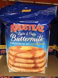 krusteaz ermilk pancake mix 160